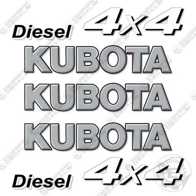 Kubota Svt 1100 Camo Utility Vehicle Replacement Decals