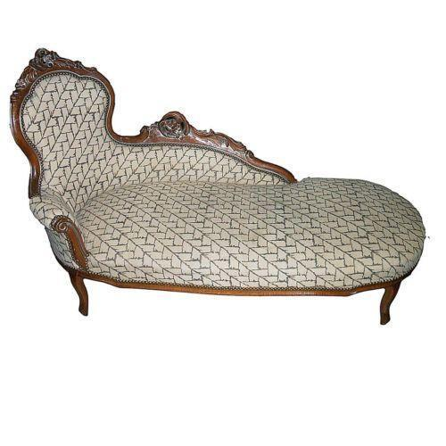 Antique fainting couch ebay for Fainting couch