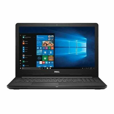 "Dell Inspiron 15 15.6"" Notebook 2.8GHz 4GB 1TB Win 10 (i3565-A125BLK-PUS)"