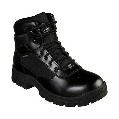 2 Mens Boot - Skechers Men's   Work Relaxed Fit Wascana Benen WP Tactical Boot