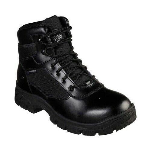 Skechers Men's   Work Relaxed Fit Wascana Benen WP Tactical Boot
