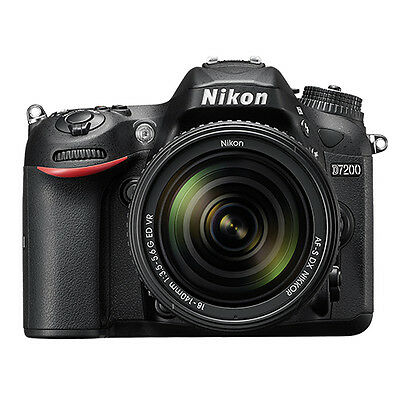 Купить Nikon D7200 - Nikon D7200 Digital SLR Camera 24.2 MP with 18-140mm VR AF-S DX Zoom Lens