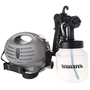 Terratek HVLP Fine spray electric airless paint gun system - Brand New
