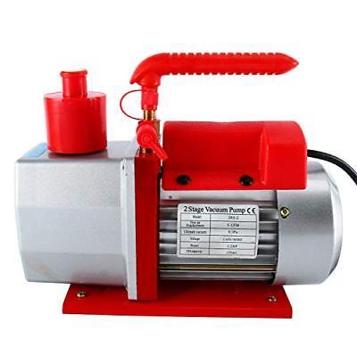 Newyaetek 5cfm 2-stage Rotary Vane Vacuum Pump 0.3pa 12hp
