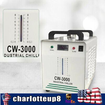 Water Cooler Chiller For Co2 Glass Laser Tube Of Laser Engraver Cutter Cooling