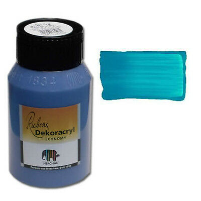 Dekoracryl Cölinblau 750 ml Acrylfarbe Blau (6,85€/1L)