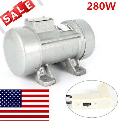 Concrete Vibrator Motor For Shaker Table Vibrator 110v Vibration Table 300kgf Us
