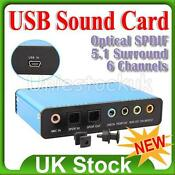 USB 5.1 Sound Card
