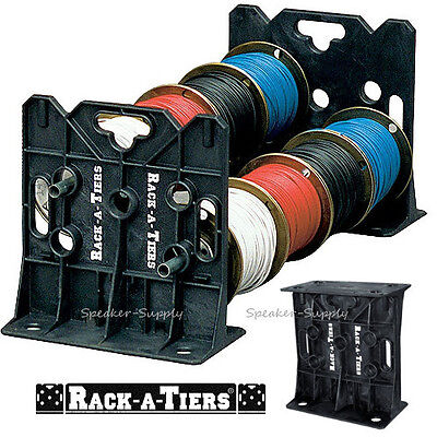 Rack-a-tiers Wire Dispenser Cable Caddy Portable Rack Holder Electricians 11455