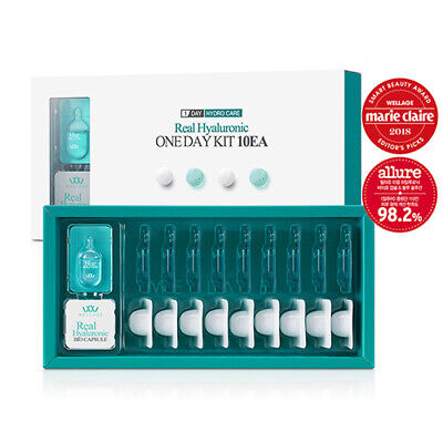 1 Ea Pack ([WELLAGE] Real Hyaluronic One Day Kit 1Pack (10ea) / Korea Cosmetic)