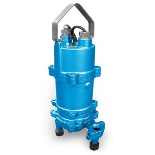 """Submersible GRINDER Pump - 43 GPM - 230V - 3 Ph - 2 HP - 1¼"""" Out - Self Priming"""
