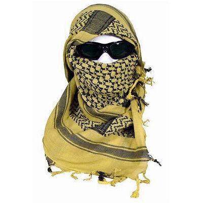 """Desert Sand Shemagh Lightweight Arab Tactical Desert Keffiyeh Scarf - 43"""" x 41"""""""