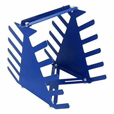 Hot Screen Printing Squeegee Rack Scraper Spatula Steel Holder Organizer