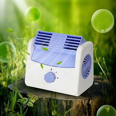 Air Conditioner Quiet Cooling Fan Silent Portable Cooler Home Office Use USB