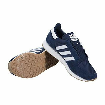 ADIDAS ORIGINALS MENS FOREST GROVE TRAINERS NAVY/WHITE ALL SIZES FROM 6 TO 11.5