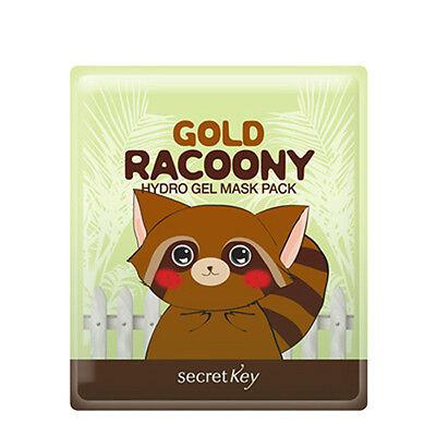 [Secret Key] Gold Racoony Hydro Gel Mask Pack