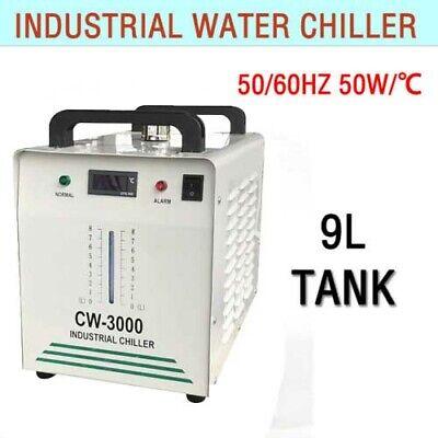 110v 9l Industrial Water Chiller Cooling Cooler For Cooling Cnc Laser Machines