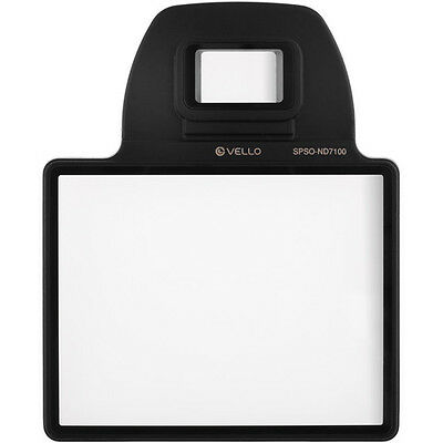 Vello Snap-On LCD Screen Protector for Nikon D7100
