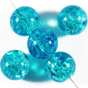 Set-di-20-perle-craquele-in-vetro-10mm-Blu