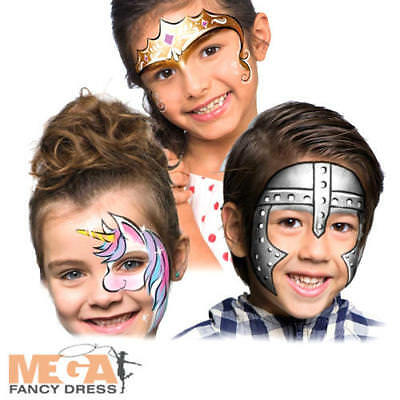 Fantasy Make Up Kit Kids Fancy Dress Fairy Tale Party Face Paint Set Costume - Halloween Face Paint Fairy