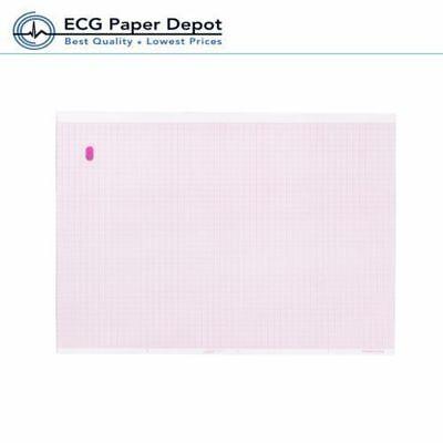 Ecg Ekg Marquette 9402-020 Electrocardio Recording Sheet 2 Packs Thermal Paper
