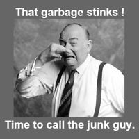 It's time to get rid of the junk: 1877 645 5043.