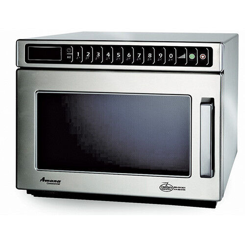 Compact Commercial Microwave - Heavy Duty 1200 Watts, 120V