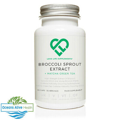 Broccoli Sprout Extract   Love Life Supplements   60 Capsules