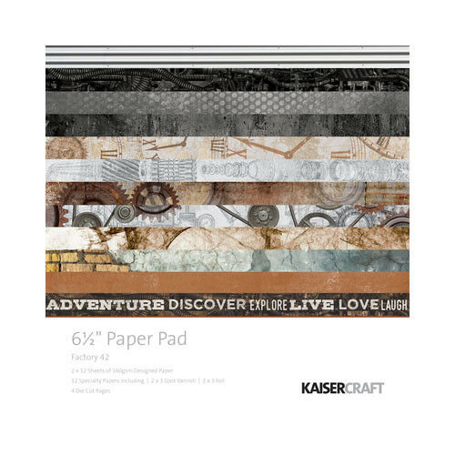 2016 - 2019 Discounted KAISERCRAFT paper pads 6.5 * 6.5 inch 20 options - Factory 42