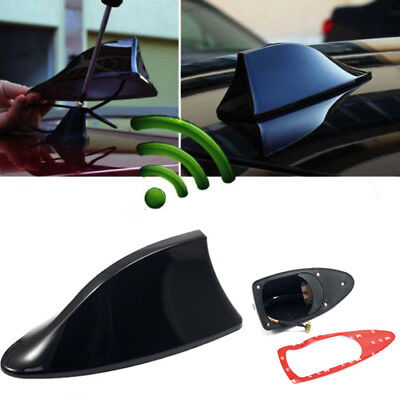 FITS GMC ONLY HIGH QUALITY SLIM PROFILE ROOF MOUNT BLACK SHARK FIN ANTENNA USA
