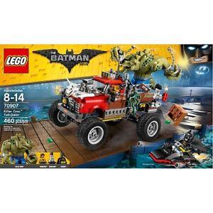BNIB NEW LEGO Batman Movie Killer Croc Tail-Gator 70907