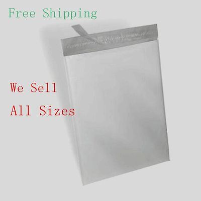 25 24x24 Poly Mailer Self Sealing Shipping Envelope Waterproof Mail Bags 2.35mil