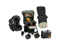 Hauck Shopper Shop n Drive Travel System (Pooh Tidy Time