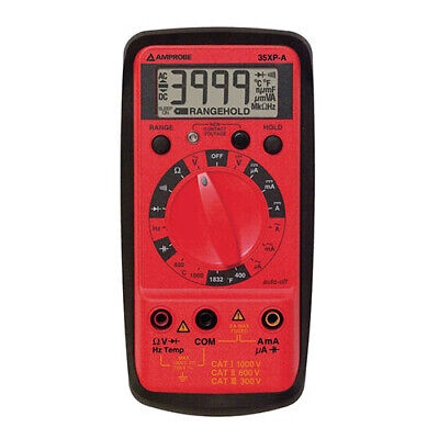 Amprobe 35xp-a Digital Multimeter With Temperature And Capacitance