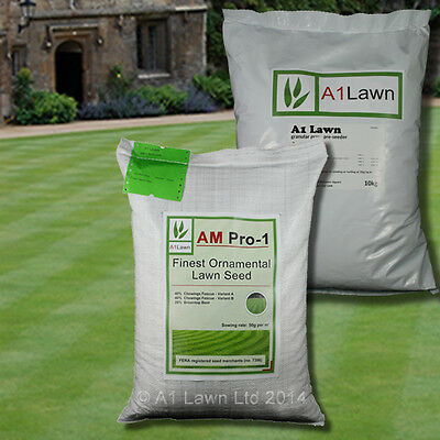 FINEST ORNAMENTAL GRASS SEED 5kg & PRE-SEEDER 10kg (MULTI-SAVE PACK)