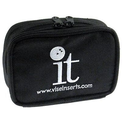 Vise Bowling IT Small Accessory Bag - New - Holds 4 IT Thumb Inserts-Free - Small Bowling Bag