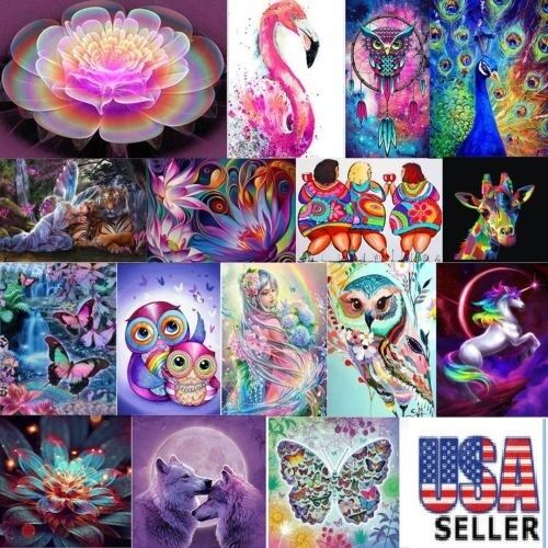 5D Diamond Painting Embroidery Cross Craft Stitch Kit Home R