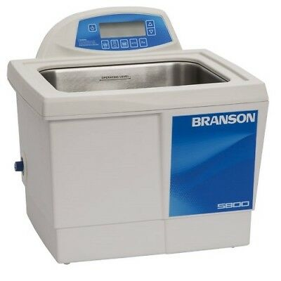 Branson Cpx5800h 2.5g Ultrasonic Cleaner W Digital Timer Heater Cpx-952-518r