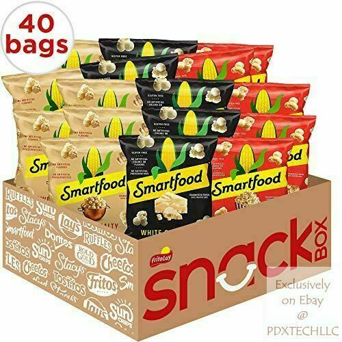 Smartfood Ounce (Pack of 40) Popcorn Variety Pack, 0.5