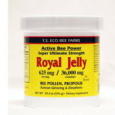 YS Organic Bee Farms Alive Bee Power Royal Jelly Paste 625 mg - 20.3 -