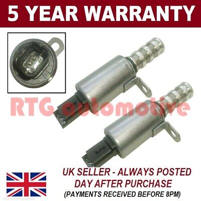 2x VANOS SOLENOID OIL CONTROL VALVE FOR MINI CITROEN PEUGEOT N12 ENGINE 1.4 1.6
