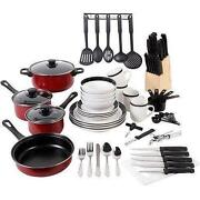 Black Dish Set