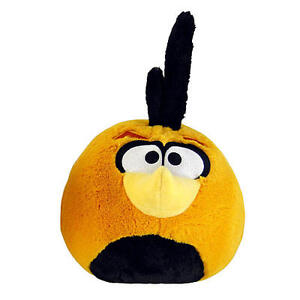 ANGRY BIRD ORANGE PLUSH 5 INCH WITH SOUND (FREE GIFT WITH BUY IT NOW PURCHASE)