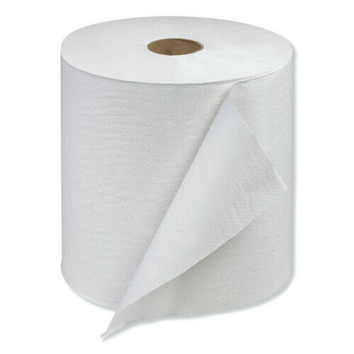 Tork RB10002 6-Roll/Ct. Hardwound 7.88 in. x 1000 ft. Roll Towels - White New