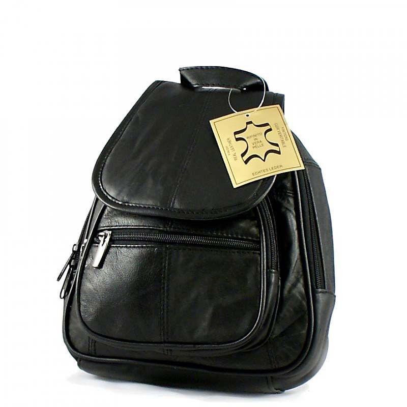 damen leder rucksack shopper tasche schultertasche handtasche bag cityrucksack ebay. Black Bedroom Furniture Sets. Home Design Ideas