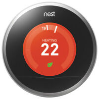 Nest learning thermostat 2nd gen - like new, still with warranty