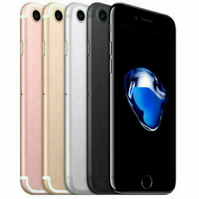 Apple iPhone 7 32GB/128GB/256GB Mobile Smartphone Factory Unlocked 12MP iOS New Cell Phones & Accessories