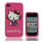 Hello Kitty Silicone iPhone 4 Cover