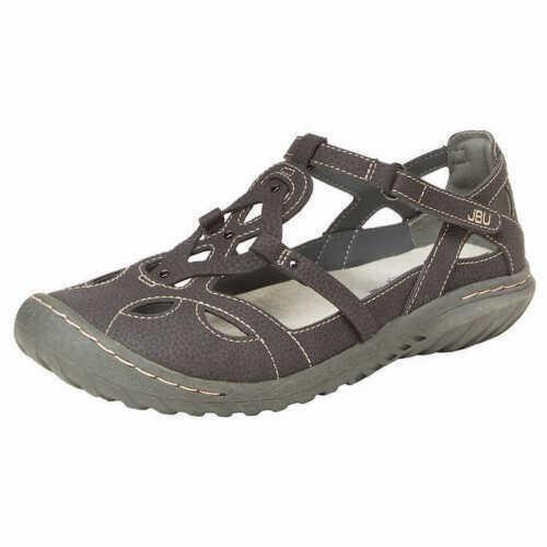 NEW JBU By Jambu Sydney Women's Sandals Memory Foam Charcoal