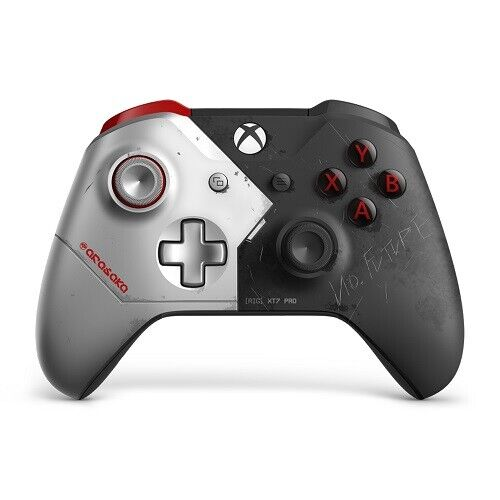 Xbox Wireless Controller Cyberpunk 2077 Limited Edition - For Xbox One - Bluetoo